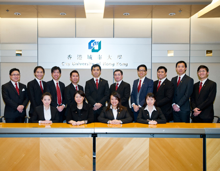 The Third Standing Committee members of CityU Convocation