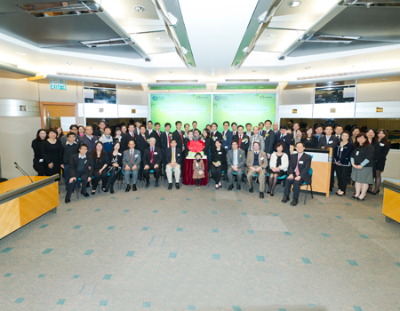 Inauguration Ceremony of the Third Standing Committee of CityU Convocation