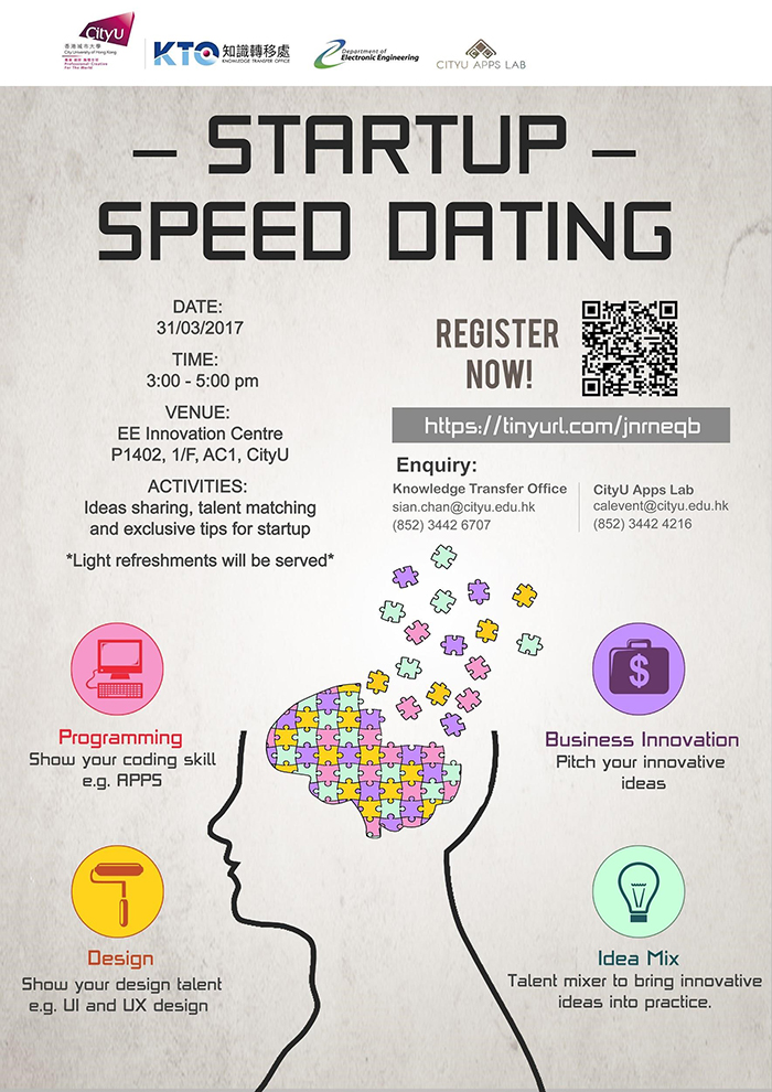 How to start up a speed dating business