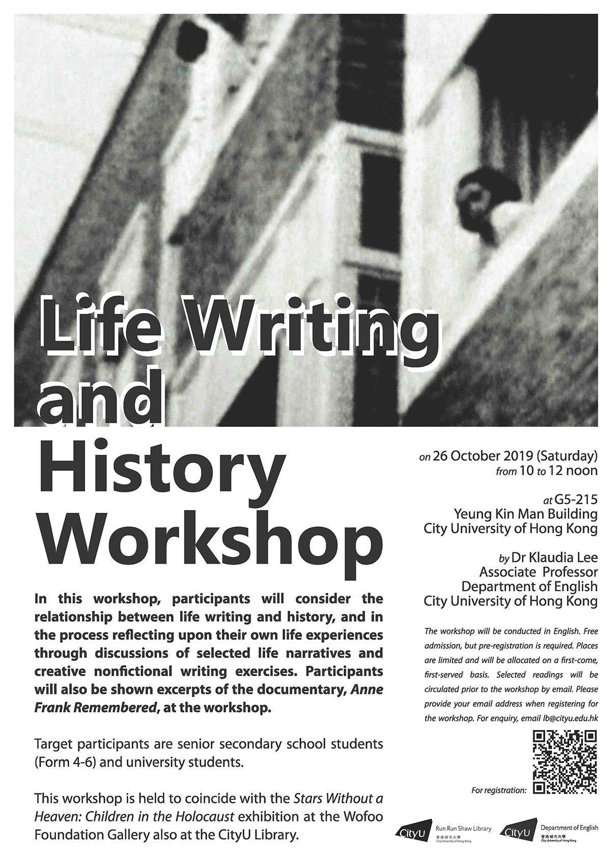 Life Writing and History Workshop