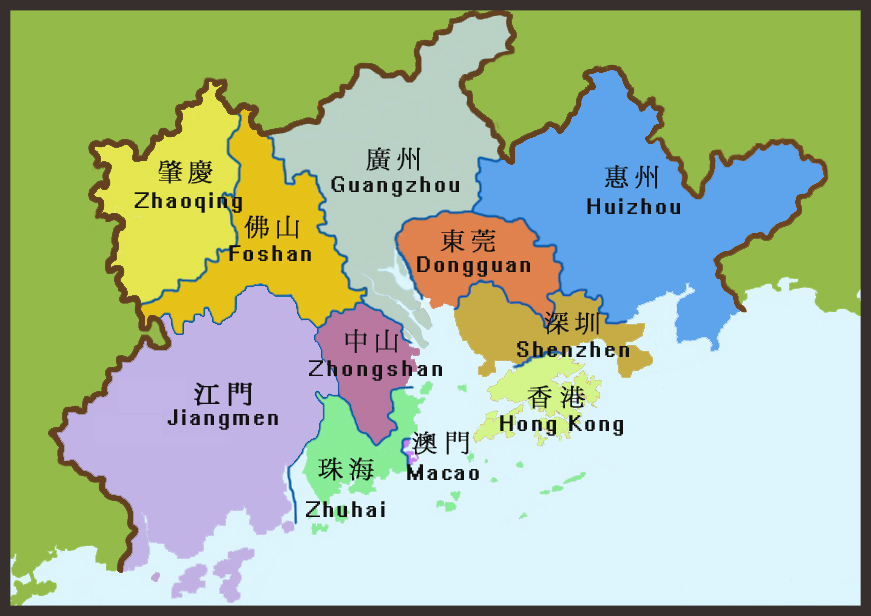 PRD map
