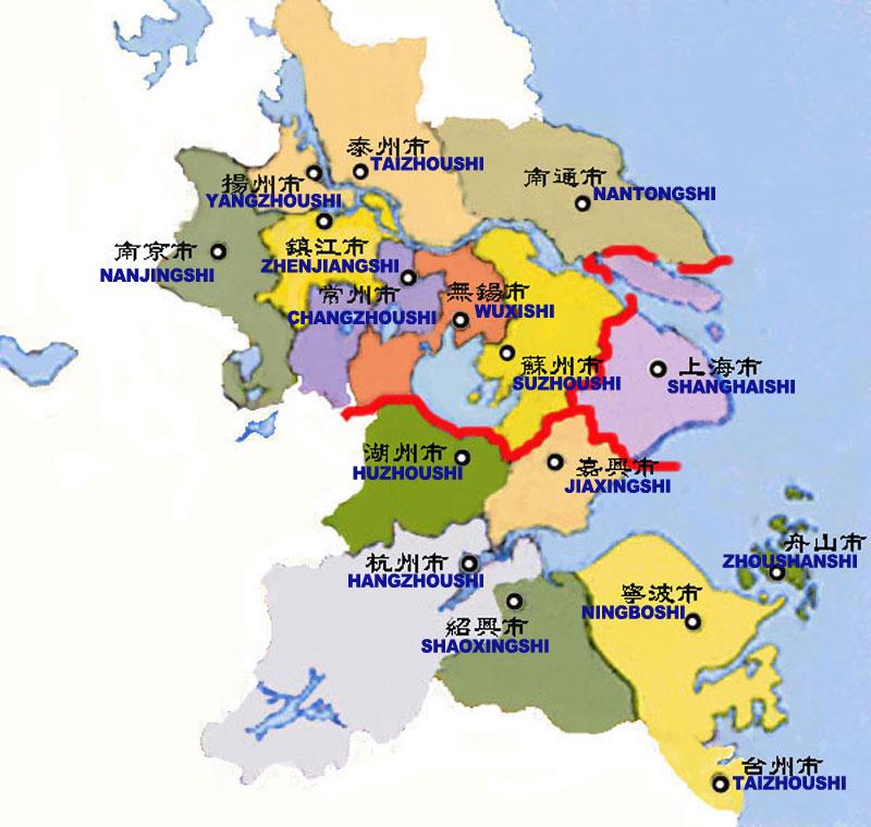 YRD map