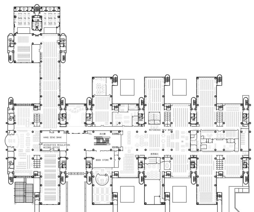 Library renovation for Floor plans for existing homes