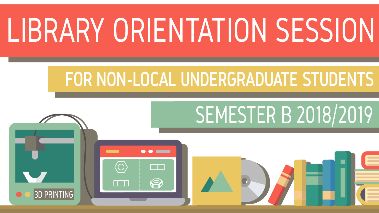 Library Orientation Tour for Non-local Undergraduate Students