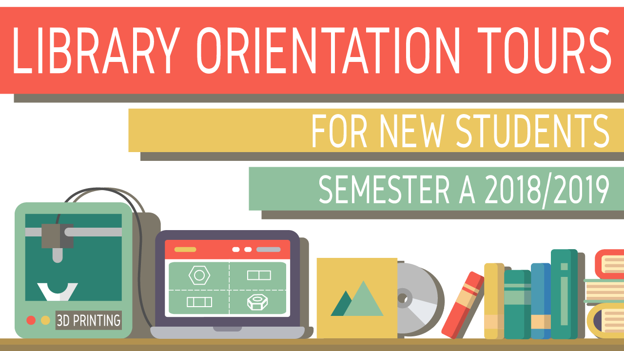 Library Orientation Tours for New Students