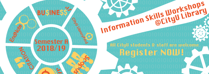 Using Web of Science and Journal Citation Reports – An Information Skills Workshops @CityU Library