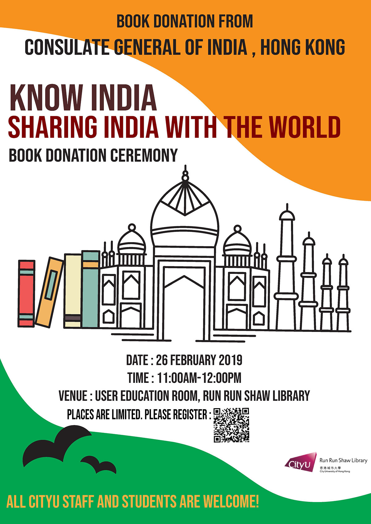 'Know India – Sharing India with the World' Book Donation Ceremony
