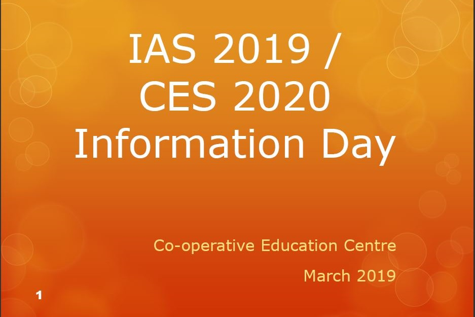 IAS_CES_Information_Session