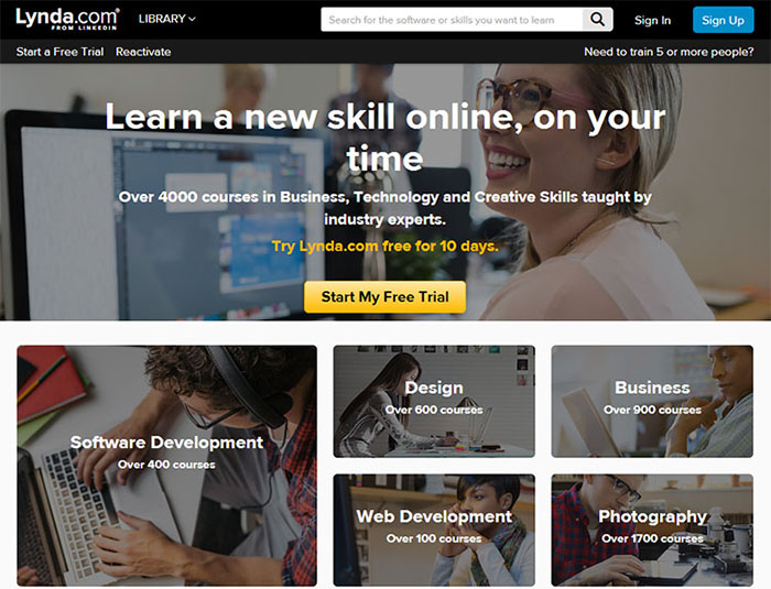 Lynda Com Online Learning Computing Services Centre