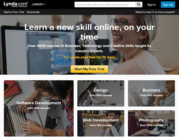 lynda.com mobile web design & development fundamentals