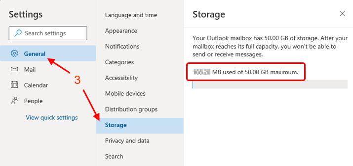 Mailbox Usage