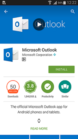 outlook app android download setup