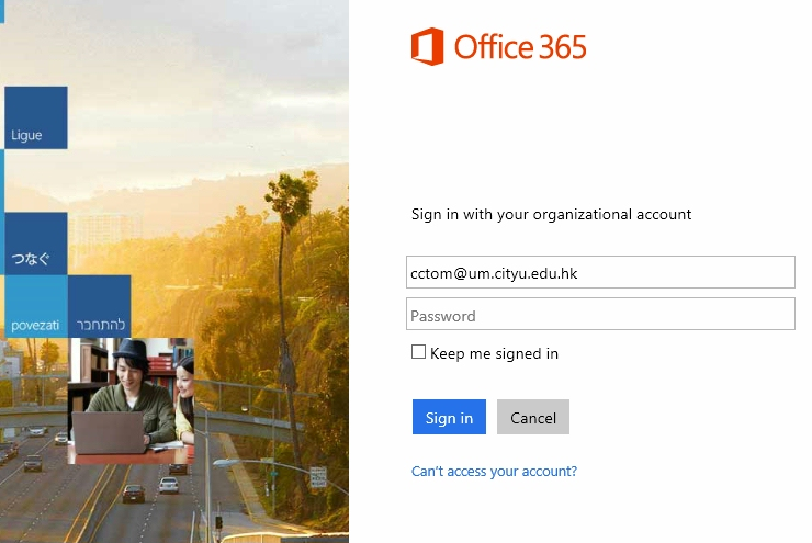 How to access my o365 account through the web computing services centre - Office 365 exchange login ...
