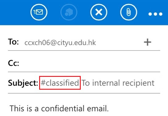 Sending/Viewing Confidential Email with Mobile Outlook Web