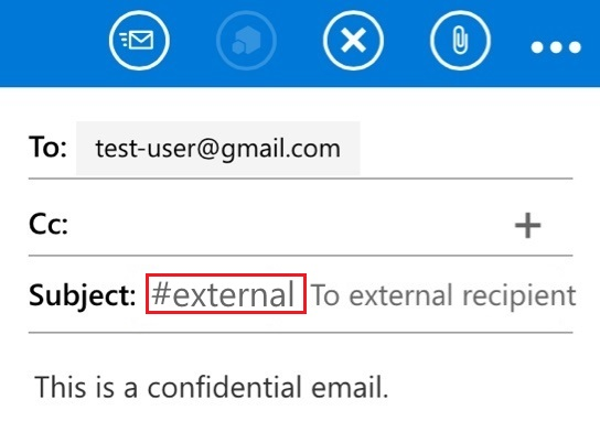 Sending/Viewing Confidential Email with Mobile Outlook Web App