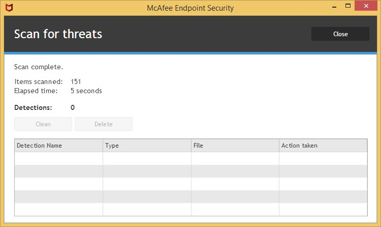 Frequently Asked Questions for McAfee Endpoint Security - Computing