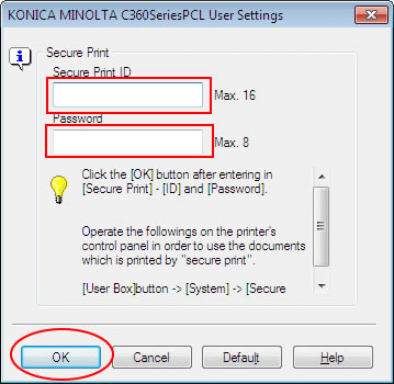 how to print secured pdf with password