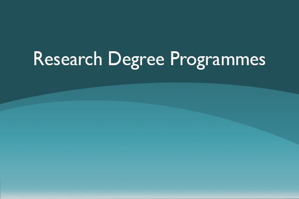Research Degree Programmes