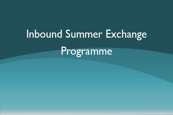 Inbound Summer Exchange Programme