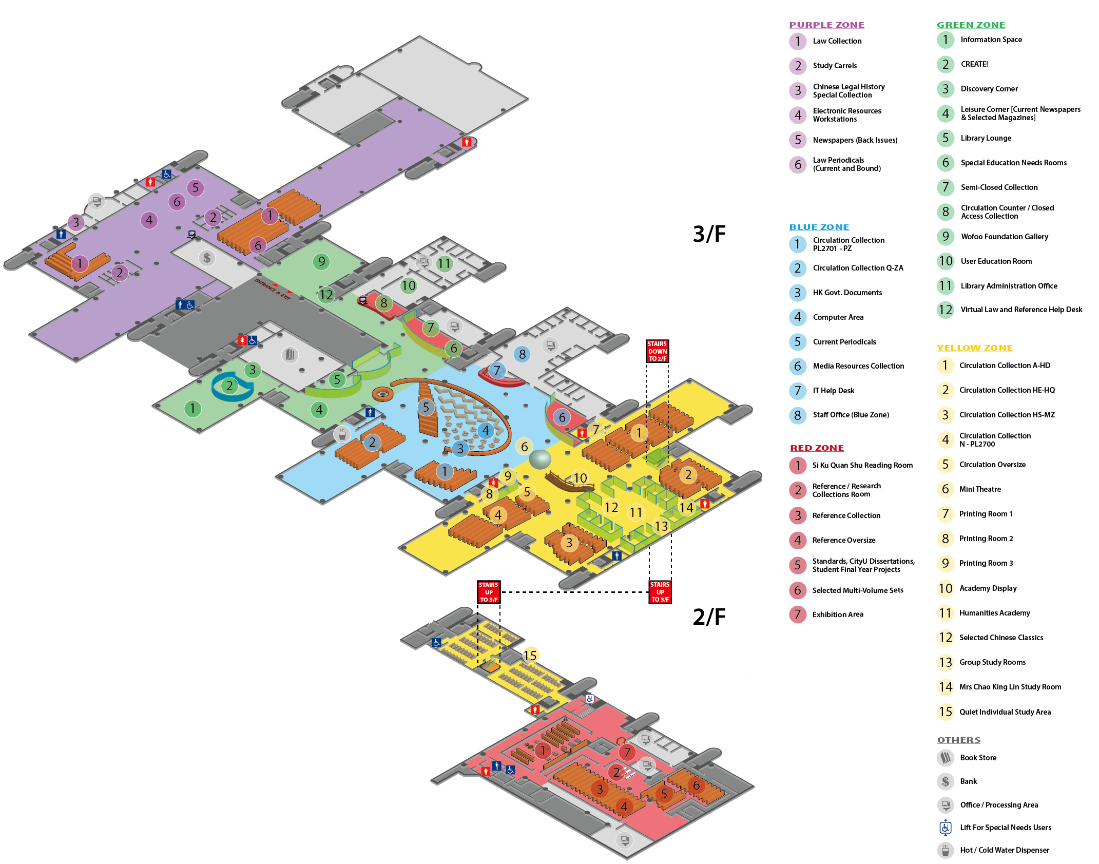 Floor Plan - Run Run Shaw Library - City University of Hong Kong