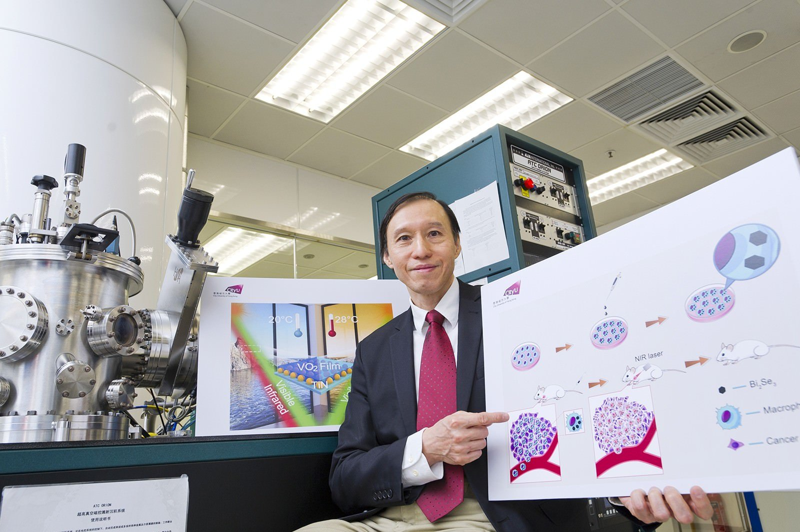 Breakthrough Technologies Developed by Prof Paul Chu