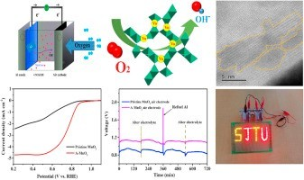 Defect-engineered MnO2 enhancing oxygen reduction reaction for high performance Al-air batteries