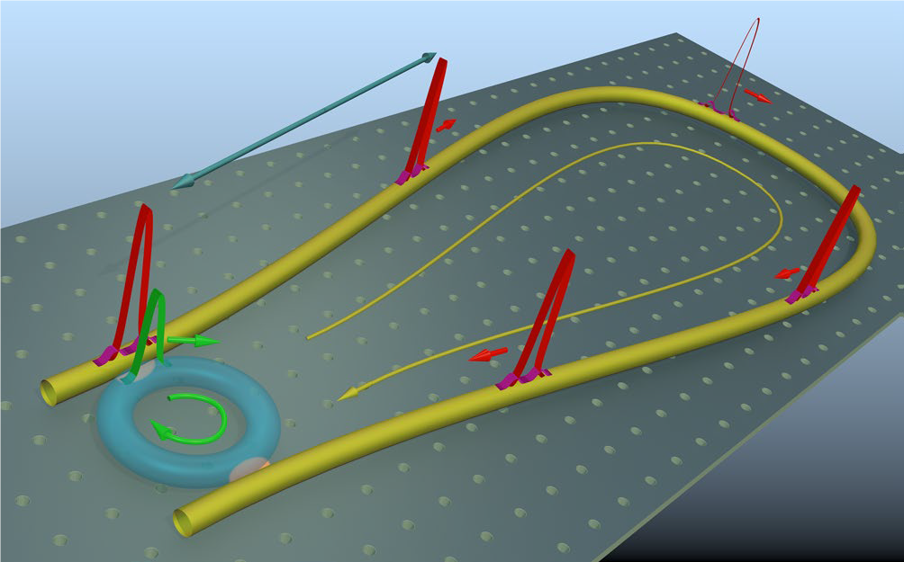 Laser cavity-soliton microcombs