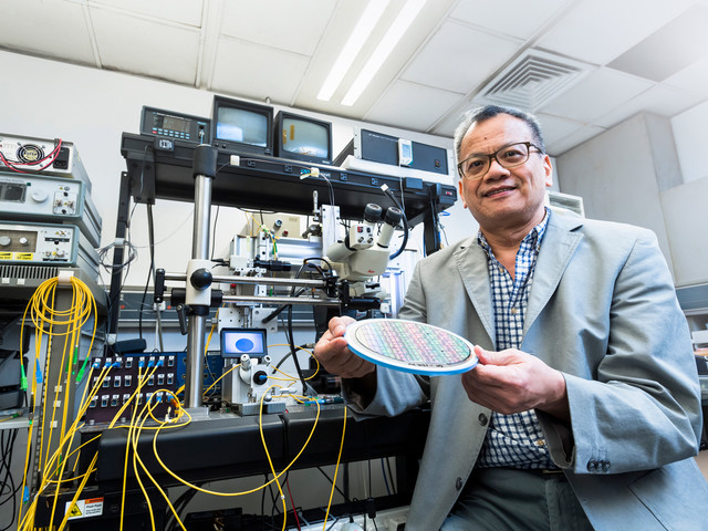 New chips accelerate data transmission