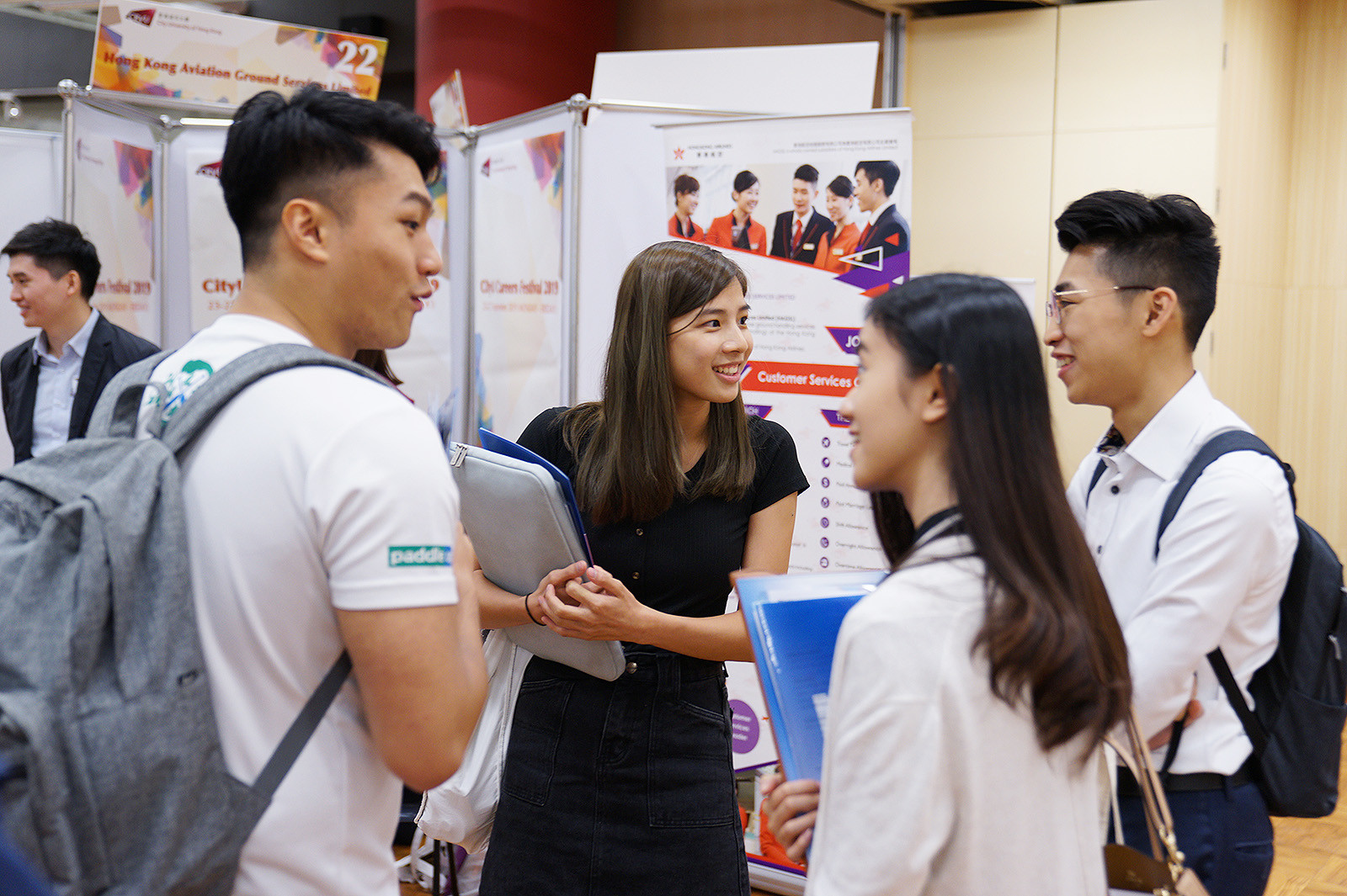 The CityU Careers Festival has featured a 3-day career expo.