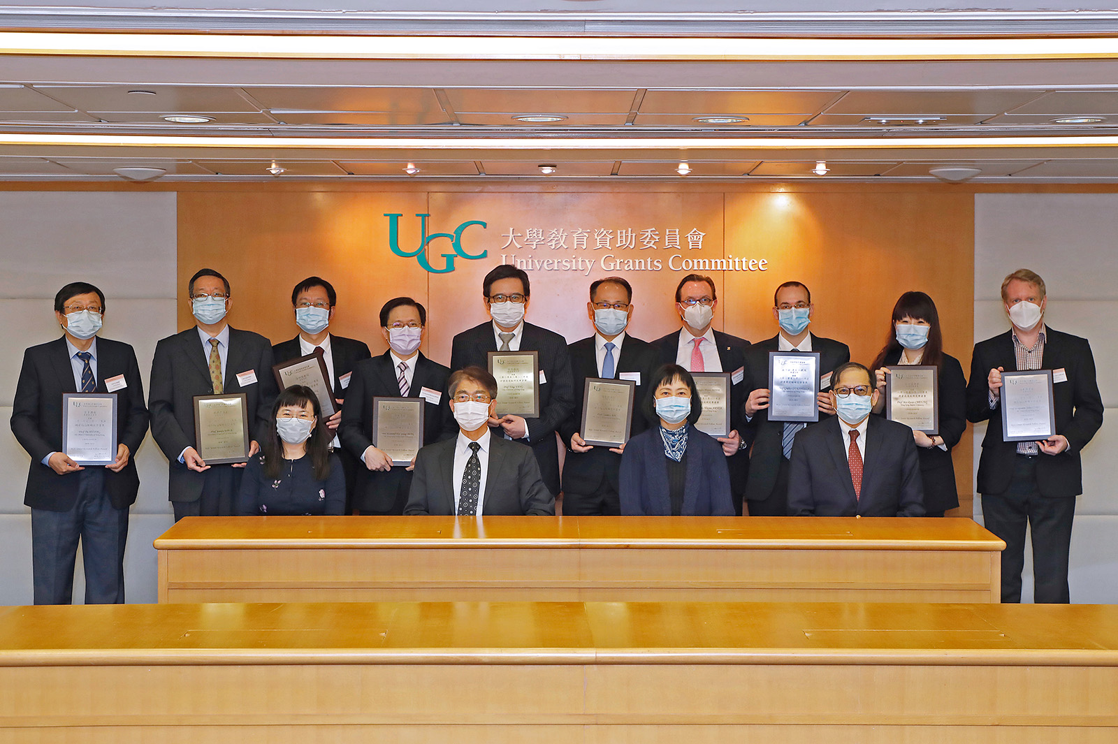 Eminent CityU faculty receive RGC awards