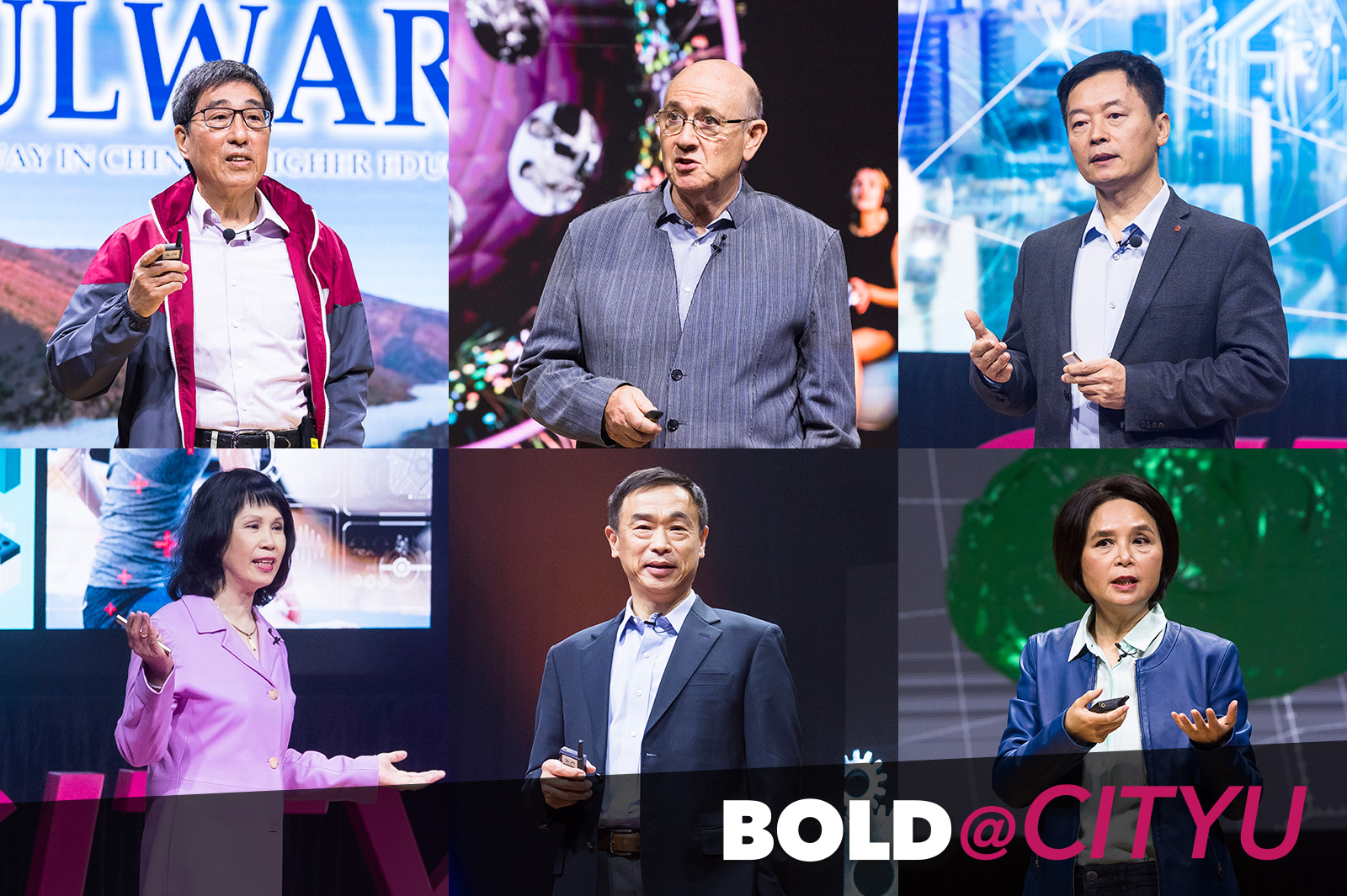 BOLD Forum presented by six notable CityU scholars