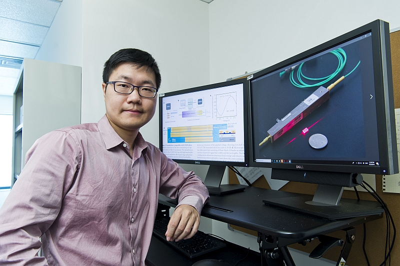 Dr Wang Cheng believes the new modulator can enable applications in quantum photonics.