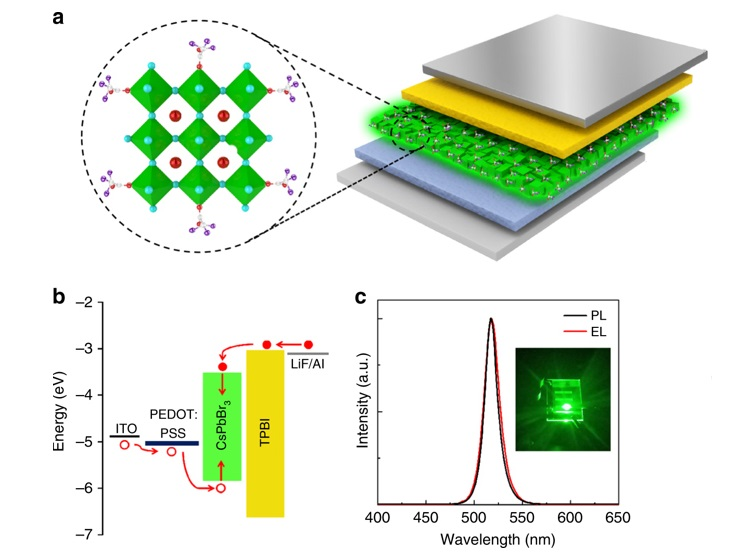 Enabling Perovskite LEDs longer lifetime