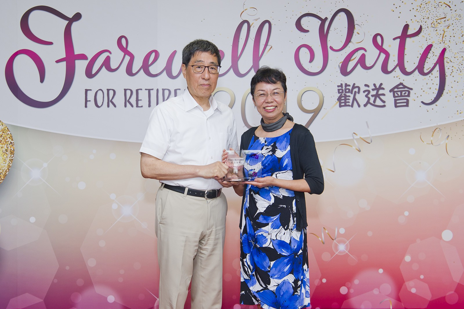 Professor Chong says she is most touched and gratified during her years at CityU when she witnessed her students' steady development.