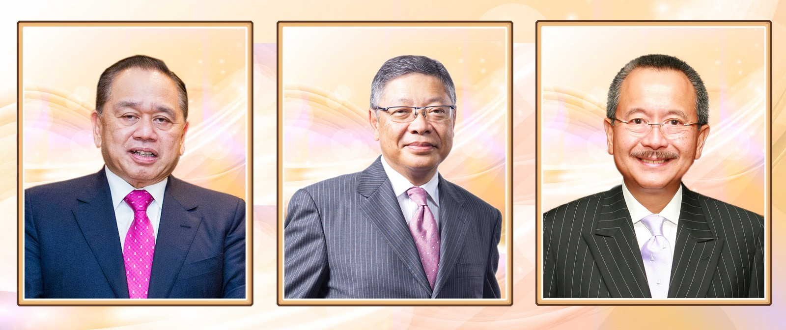 (From left) Dr Yu Kwok-chun, Mr Vincent Chow Wing-shing and Mr Karl Kwok Chi-leung