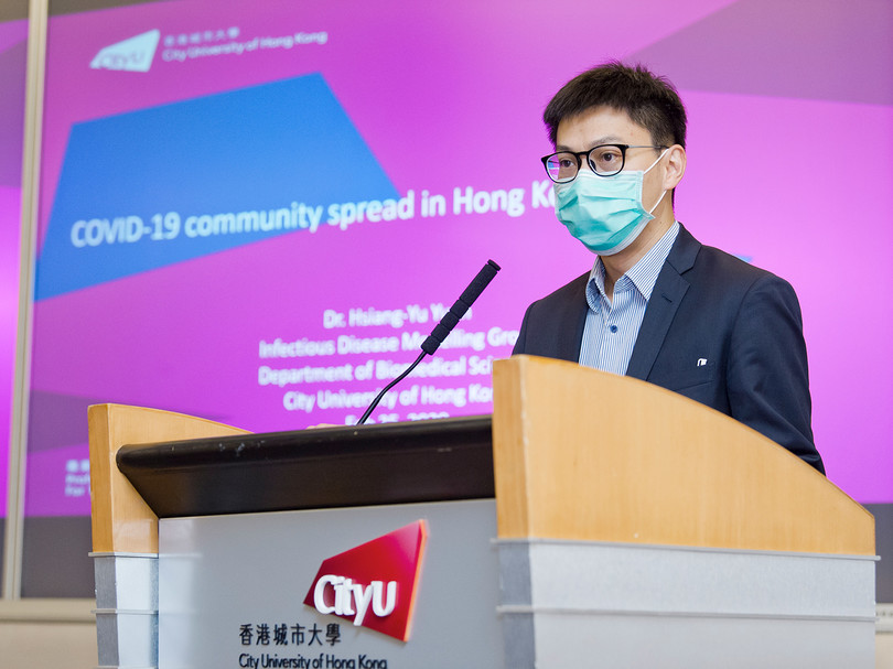 CityU estimate: Patients quarantined after symptoms for 3.5 days