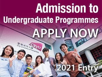 Applications for admission to undergraduate programmes for 2021 entry