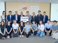 Delegation from The Chinese Manufacturers' Association of Hong Kong (CMA) visited CityU to meet with student recipients