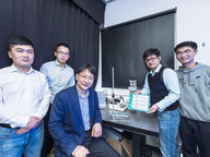new droplet-based electricity generator
