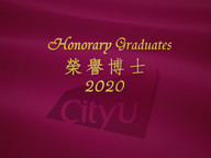 CityU to confer honorary doctorates on three distinguished persons