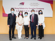 Scholarship donation from Ng Teng Fong Charitable Foundation encourages students to stay positive amid difficulties