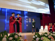 Use data wisely, CityU President tells NCTU graduates