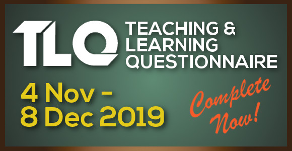 Teaching & Learning Questionnaire (Sem A 2019/20)