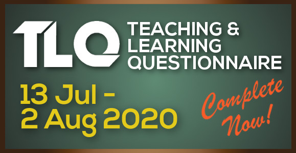 Teaching & Learning Questionnaire (Summer Term 2020)