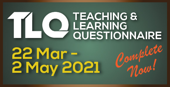 Teaching & Learning Questionnaire (Sem B 2020/21)